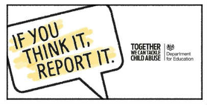 If you think it, report it.